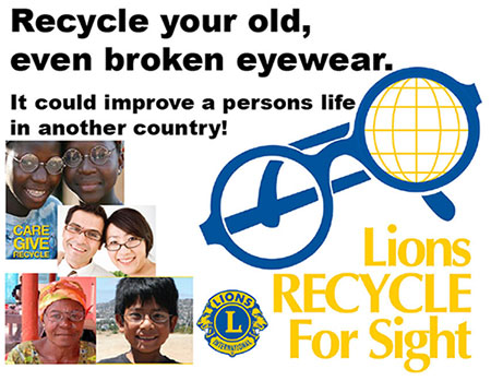 lions recycle for sight